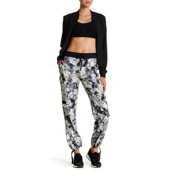 Central Park West Pants - Central Park Activewear Printed Jogger Pants XS